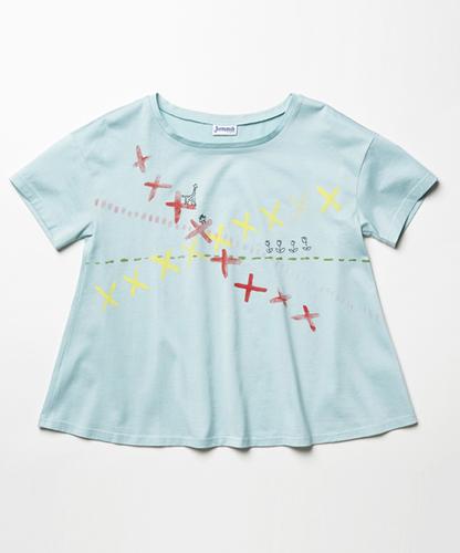 くつしたモラちゃんTシャツ【puntada】(ステッチ).jpg