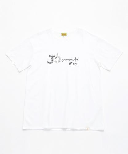 ロゴTシャツ(メンズ)【anguila】(ウナギ).jpg